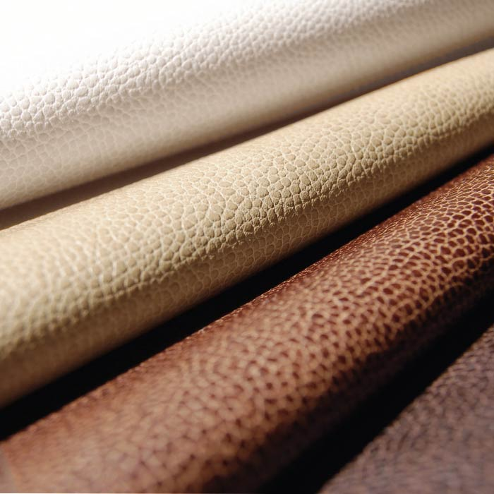 Shagreen II pebbled faux leather for upholstery