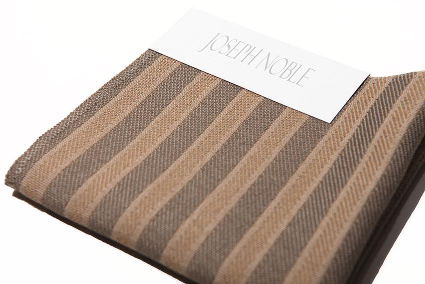 Joseph Noble   Textiles   Dapper 3150   Striped Upholstery Fabric