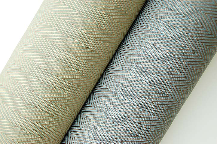 Arrival, Chevron contract upholstery fabric
