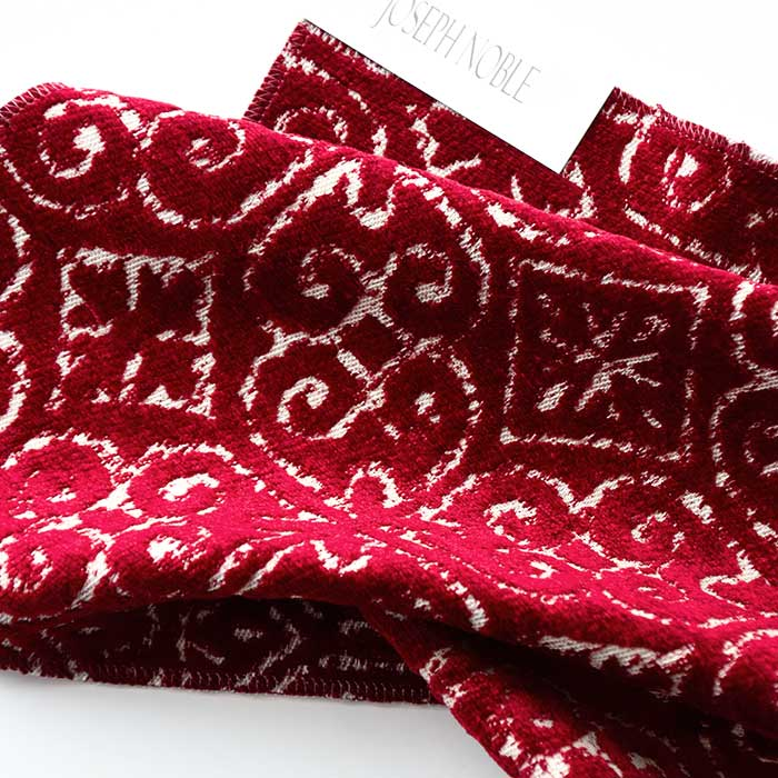 Ironwork scroll pattern upholstery fabric